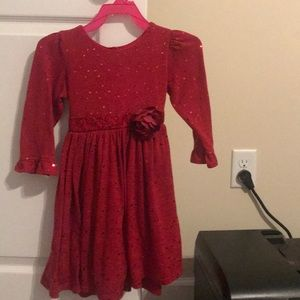Girls size 5 holiday dress